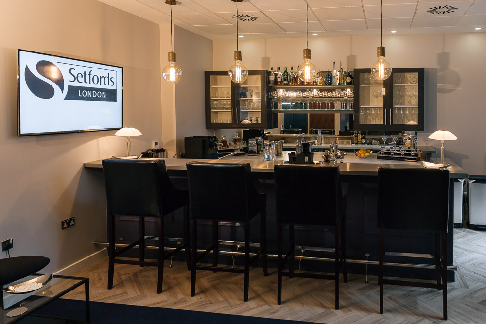 Setfords London bar