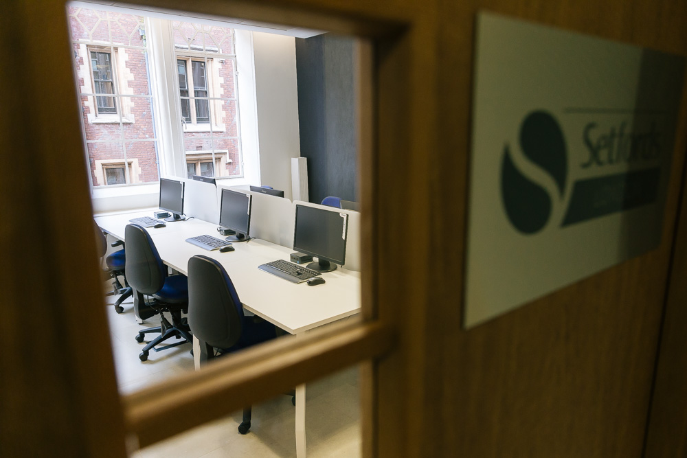 Setfords London office