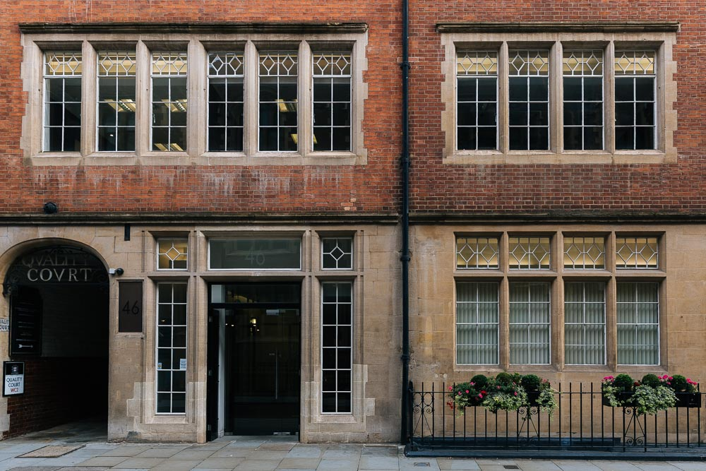 Setfords London office at Chancery Lane