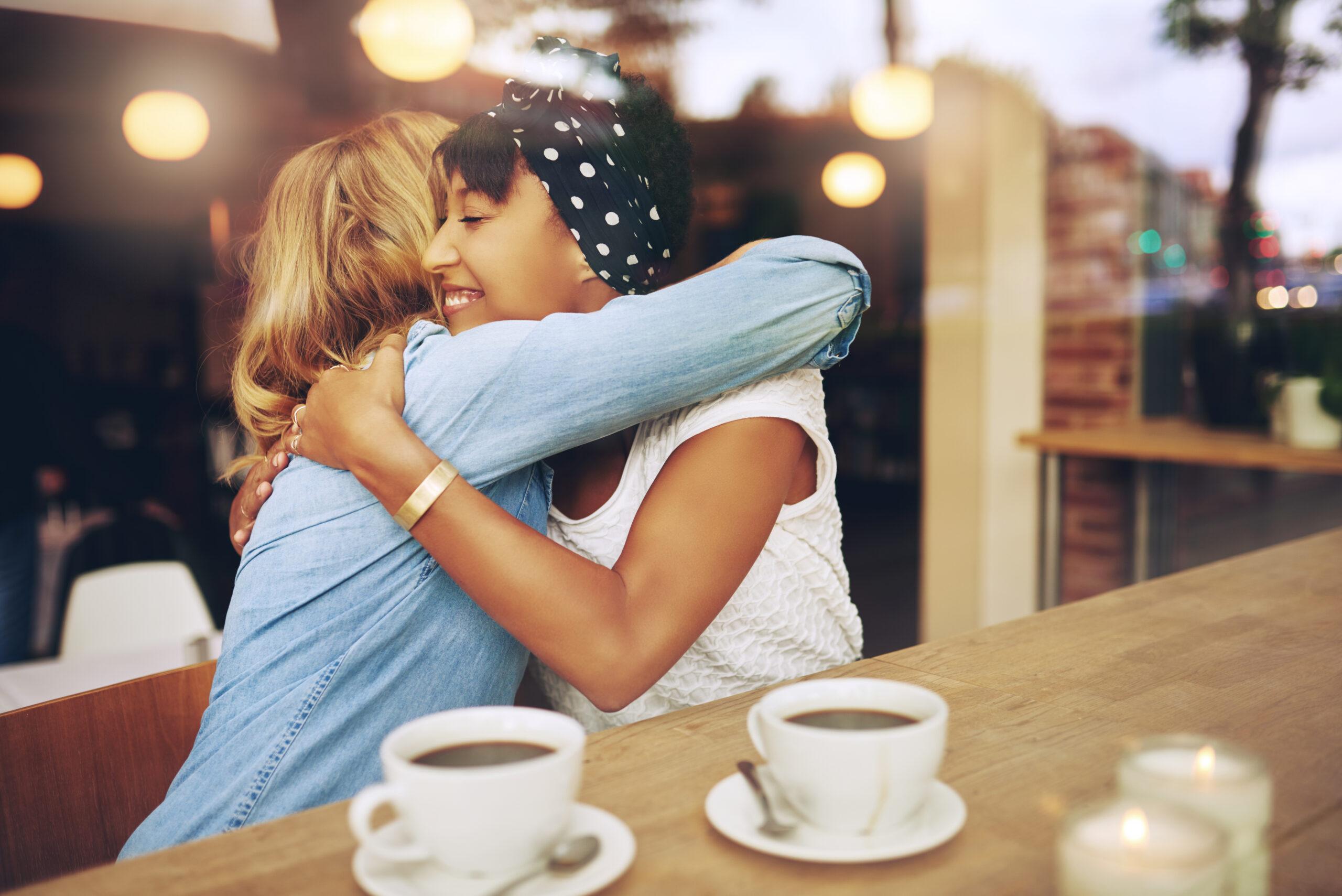 Wellbeing - hug